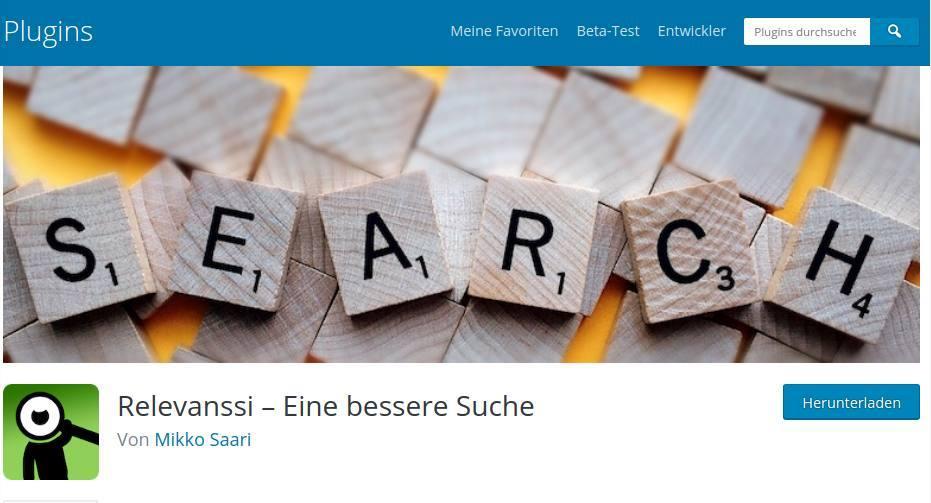 5 Tipps für die WordPress-Suche in deinem Blog_2_WordPress-Suche-Relevanssi