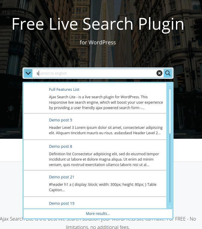 5 Tipps für die WordPress-Suche in deinem Blog_3_WordPress-Suche-Ajax-search