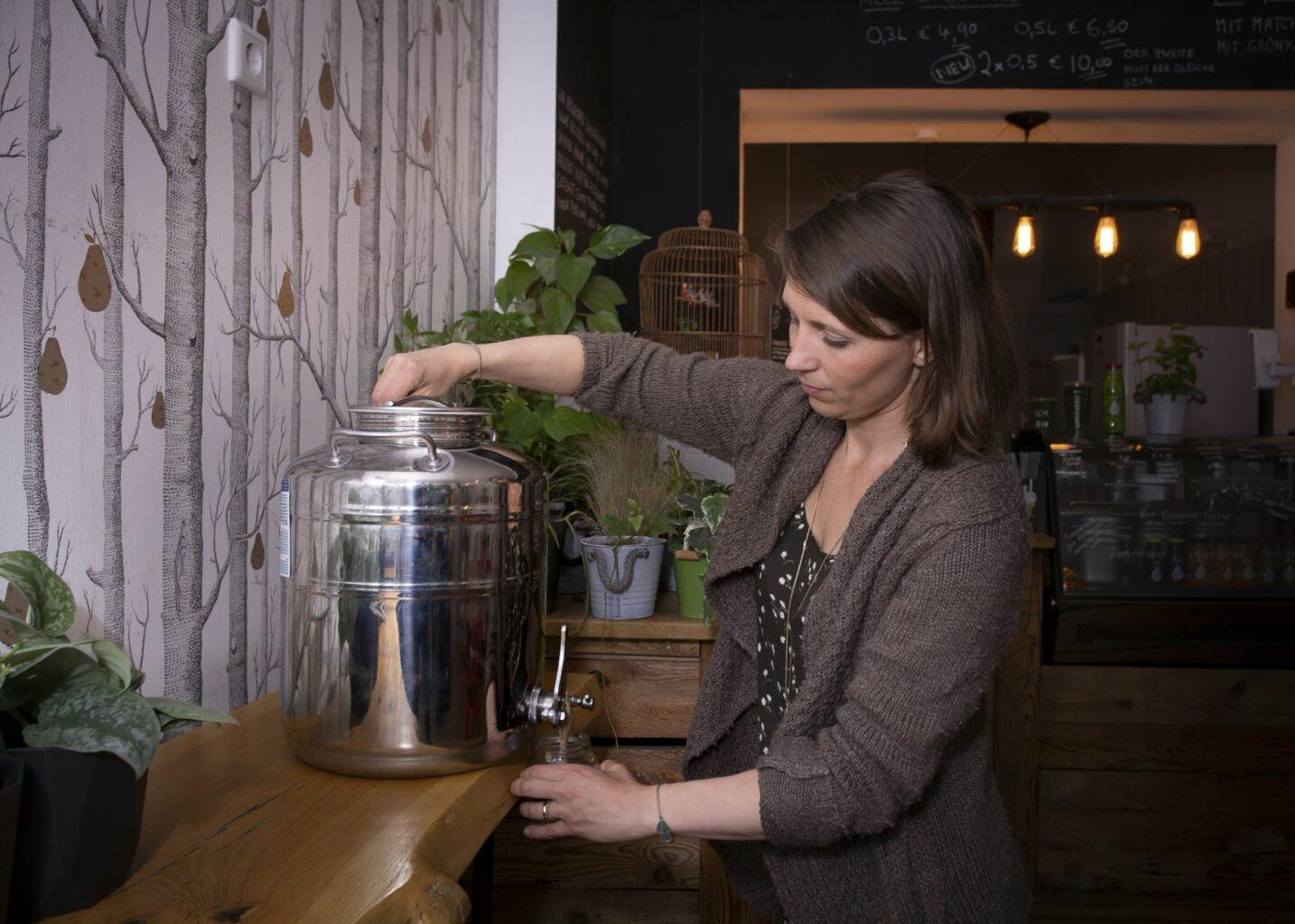 AnnasBlattgold- Vegane Küche für eine gesündere Welt_Getränk