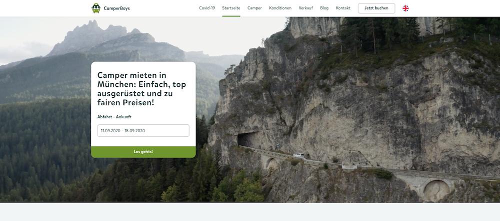 Die CamperBoys bringen ein starkes Business ins Rollen_Website
