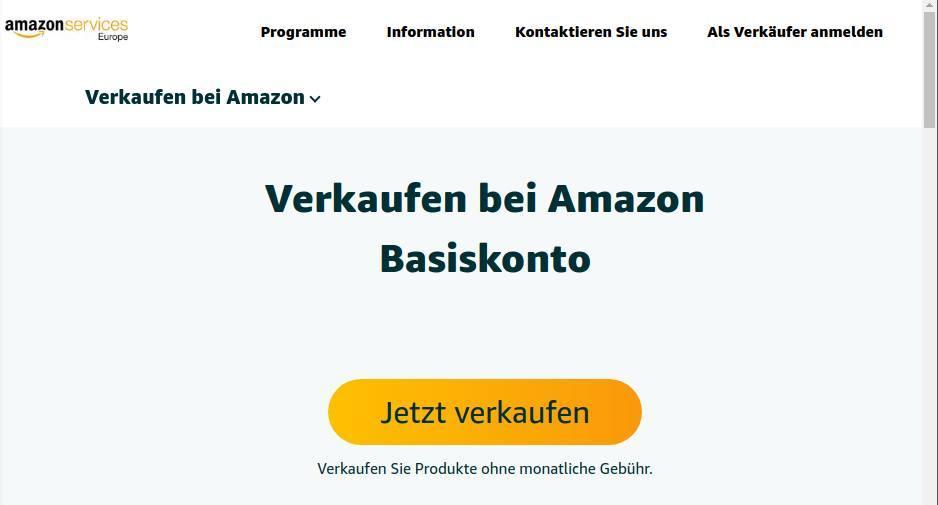 Die besten 5 Verkaufsportale für Privatverkäufer im Überblick_Verkaufsportal-Amazon-Marktplatz