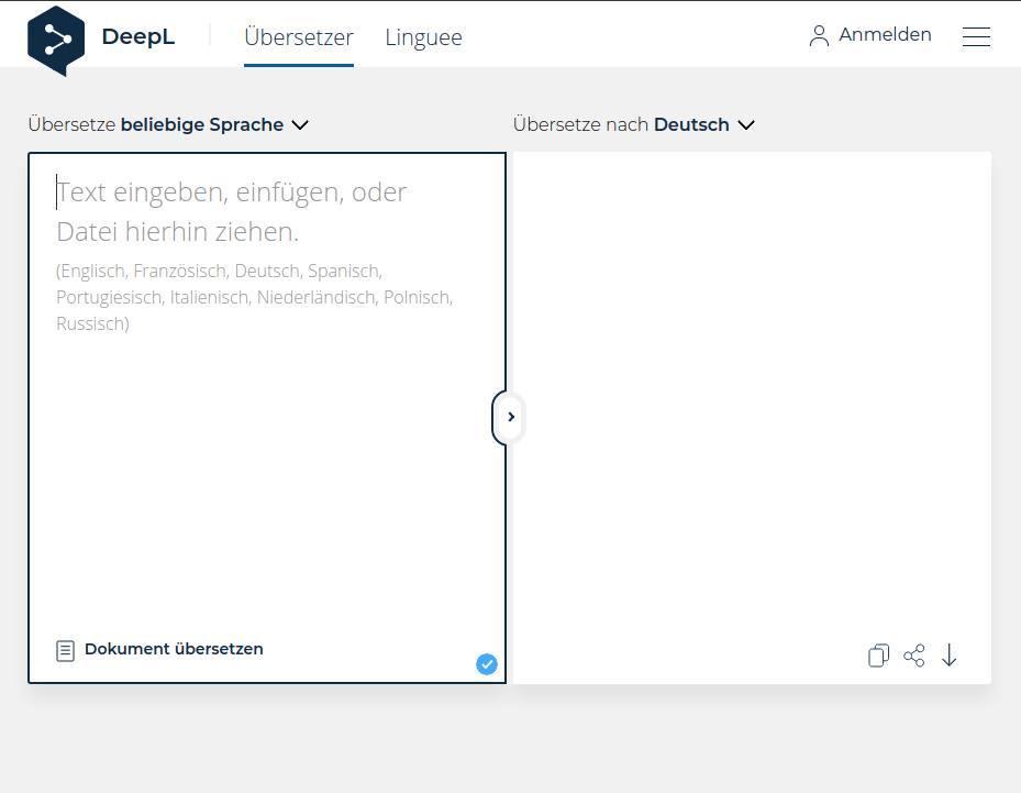 Die besten kostenlosen Tools für die Online-Übersetzung_Online-Uebersetzung-DeepL