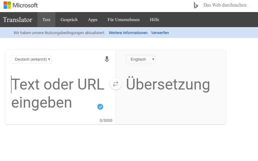 Die besten kostenlosen Tools für die Online-Übersetzung_Online-Uebersetzung-Microsoft-Translate