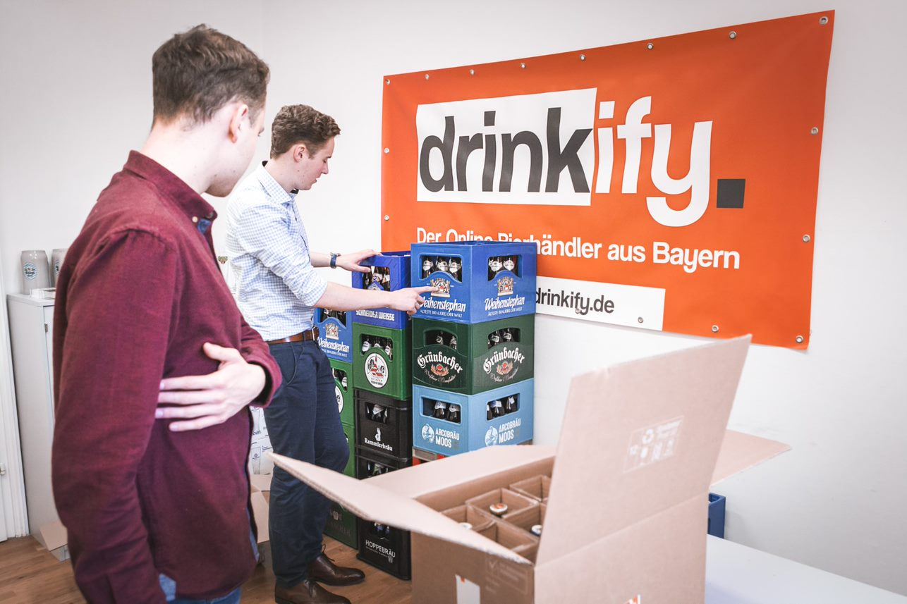 Drinkify- Exklusives Bier trifft auf exklusives Webhosting_Office