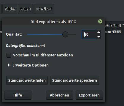 Gimp-Hintergrundbild-verkleinern