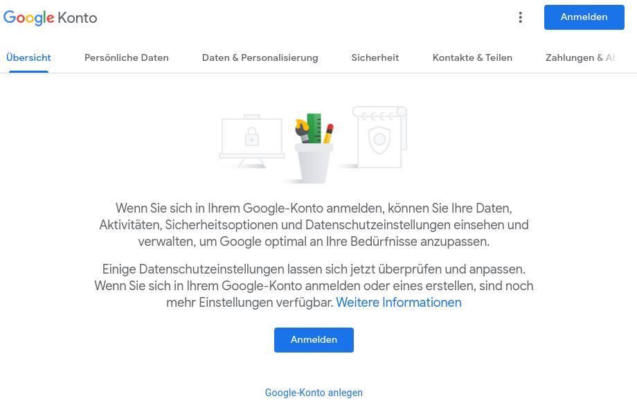 Google Konto verwalten – das sind die wichtigsten Tipps_Google-Konto-Anmelden
