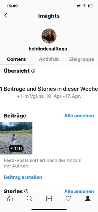Instagram Insights- Wie du deinen Account dank der Instagram-Statistik zum Erfolg führst_Insights