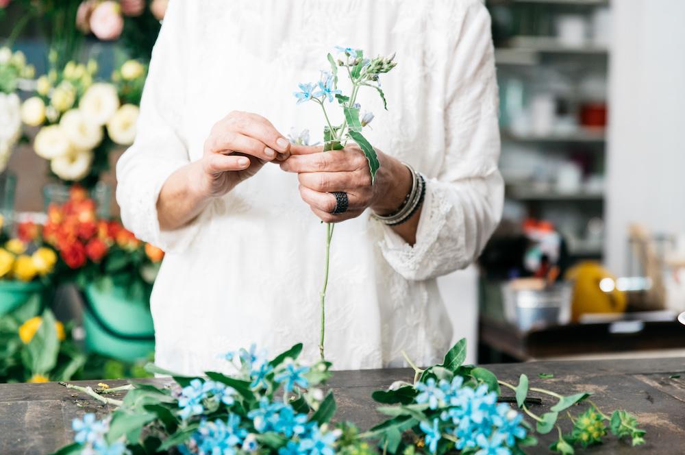 Side Hustler_5 Praxistipps für nebenberufliche Gründer zum erfolgreichen Durchstarten_Blumen