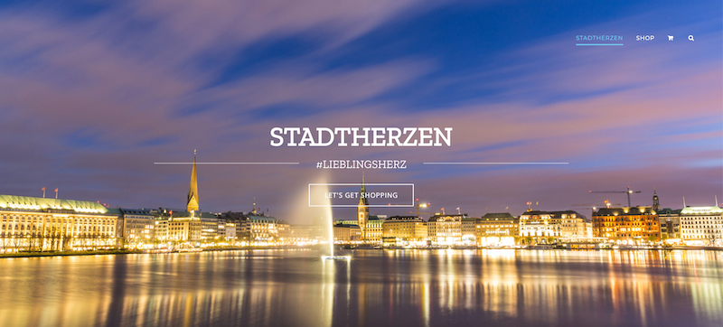 Stadtherzen Website