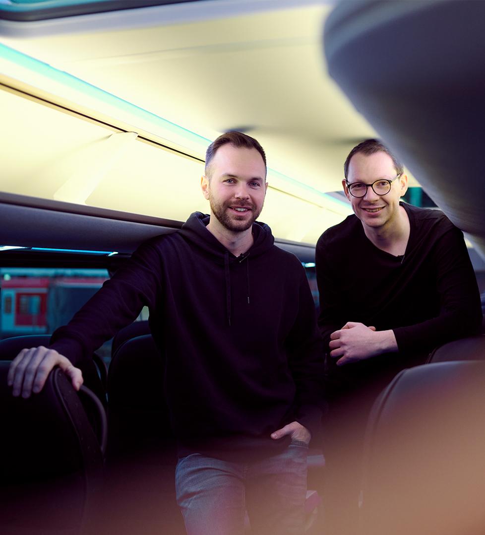 Pinkbus_Christian und Tino