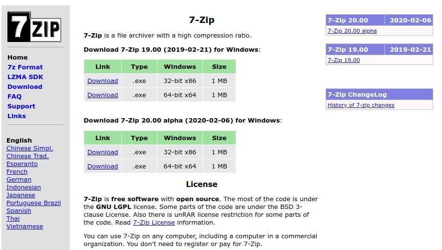 Zip Datei erstellen - Zip Datei öffnen - So geht's_ZIP-erstellen-7-ZIP