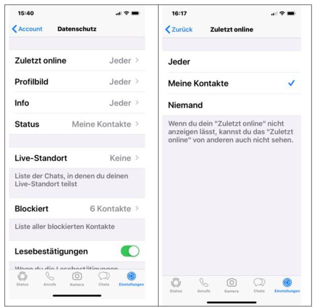 Abbildung3 -WhatsApp-Einstellungen