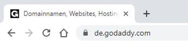 Abbildung - Adresszeile Browser - Symbol fuer SSL-Zertifikat