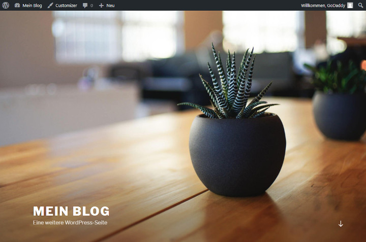 Abbildung 4 - Beispiel-WordPress-Theme_Twenty-Seventeen