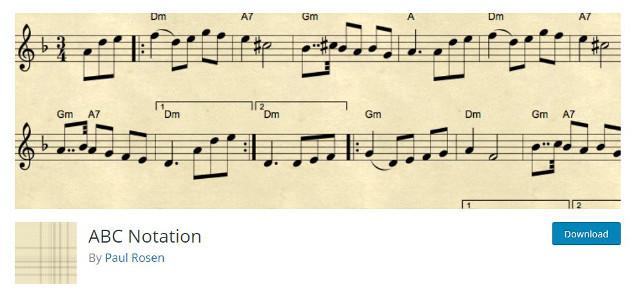 Abbildung - ABC Notation