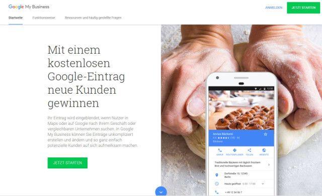 Abbildung - Anmeldung-bei Google My Business