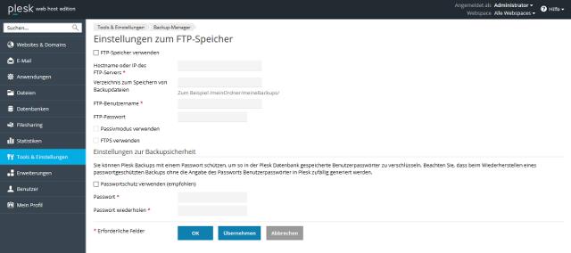 Abbildung - FTP-Speicher