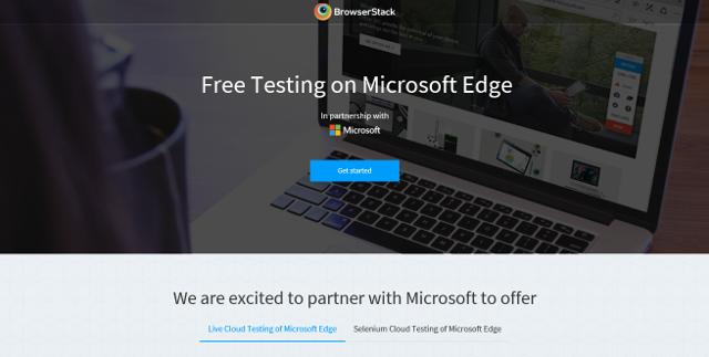 Abbildung - Free Testing Microsoft Edge ohne Windows