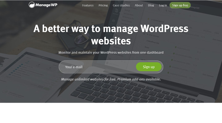 Abbildung - ManageWP