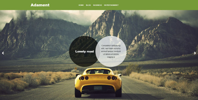 Abbildung - Resonsive WordPress-Theme Adament