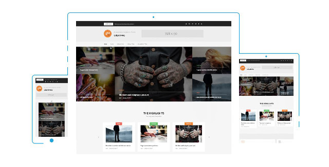 Abbildung - Resonsive WordPress-Theme Greatmag