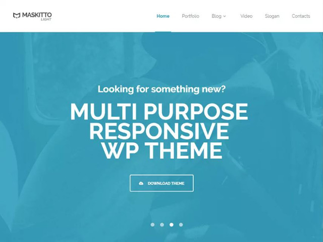 Abbildung - Resonsive WordPress-Theme Maskitto