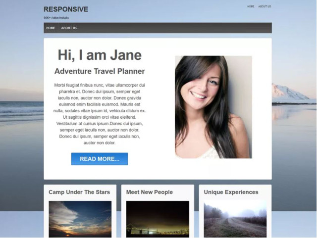 Abbildung - Resonsive WordPress-Theme Responsive