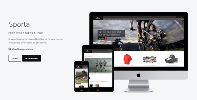 Abbildung - Resonsive WordPress-Theme Sporta