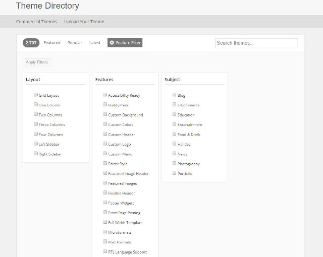 Abbildung - Resonsive WordPress-Theme Theme Directory WordPress_ORG