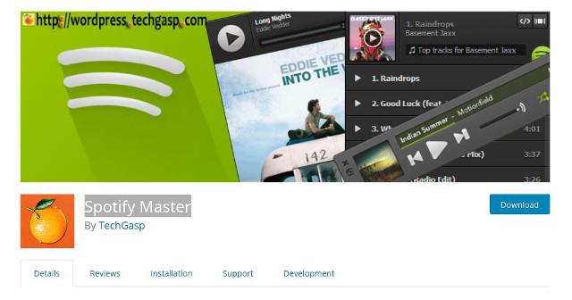 Abbildung - Spotify Master