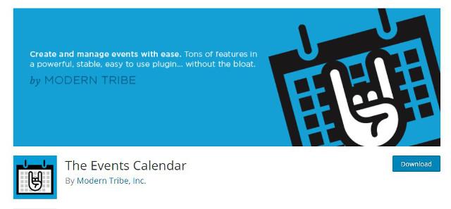 Abbildung - The Event Calendar PlugIn