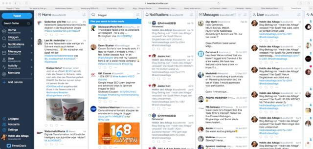 Abbildung - Tweetdeck