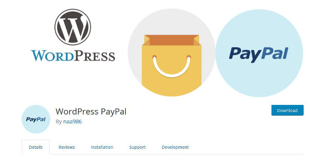Abbildung - WordPress PayPal