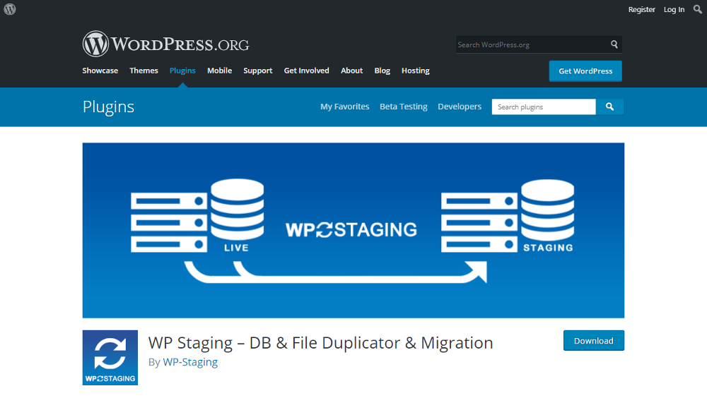 Abbildung - WordPress Plugin WP Staging