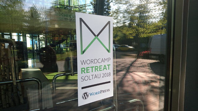 Abbildung_-_WordCamp Retreat 2018 in Soltau