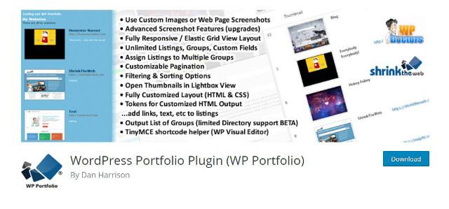 Abbildung_-_WordPress Portfolio Plugin - WP Portfolio