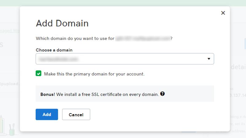 Abbildung_-_Absicherung einer Domain für eine WordPress-Webseite mit einem kostenlosen SSL-Zertifikat