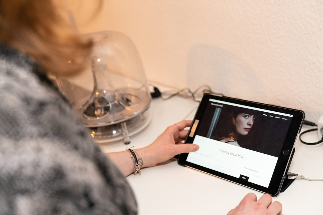 Alessa Eisschiel Schauspielen ist eine Art Befreiung Schauspielern Website