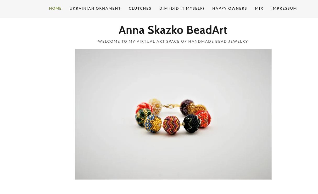 BeadArt Mit GoDaddy macht Anna Schmuckstücke zum Unikat Website Aufbau