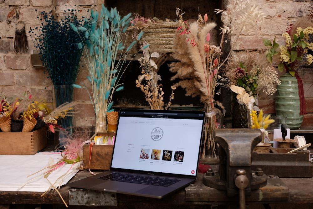 COCORNER SHOP_Von der Dried Flower Bar zum eigenen Online-Shop_Digitalisierung