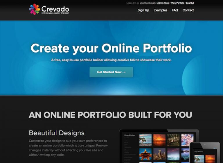 Die besten Online Portfolio Websites_Crevado