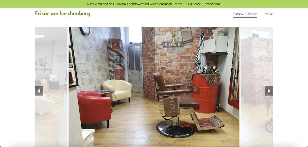 Friseur am Lerchenberg_Mehr Kunden gewinnen mit einer Website als Online-Visitenkarte_Header