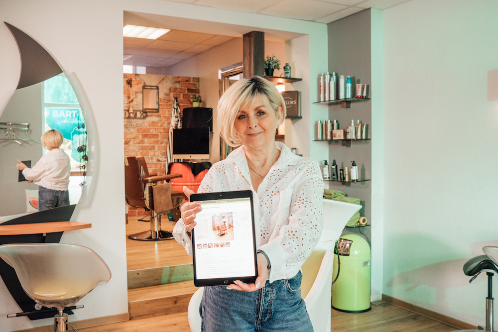Friseur am Lerchenberg_Sylvia_Online Kunden gewinnen