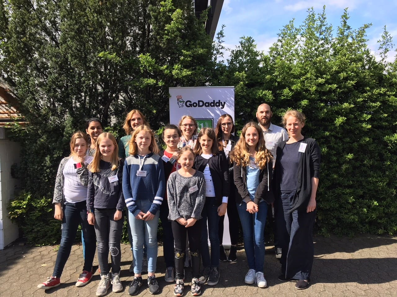 Girls'Day bei GoDaddy