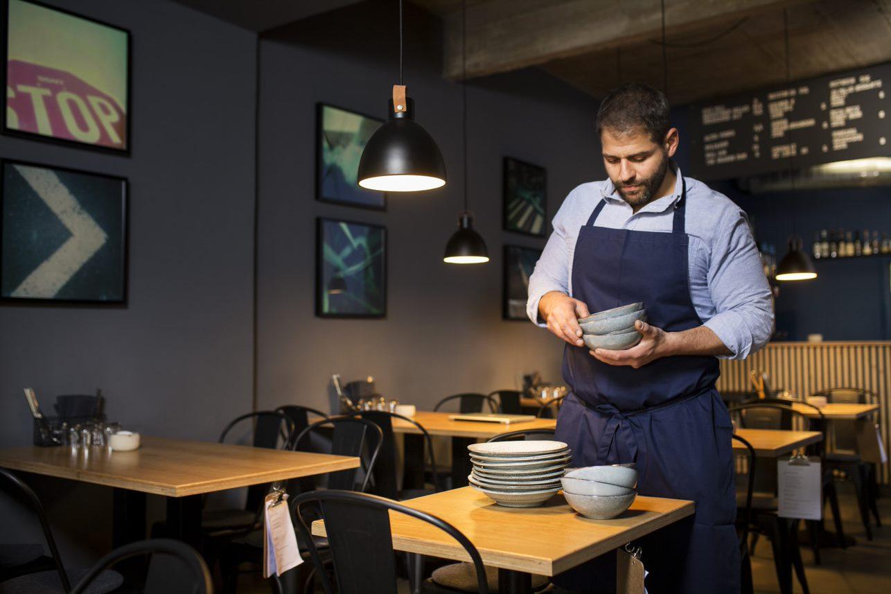 NOA Foodbar- Wo der Genuss im Vordergrund steht_Geschirr