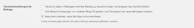 Abbildung_-_Pingback-Einstellungen-Dashboard