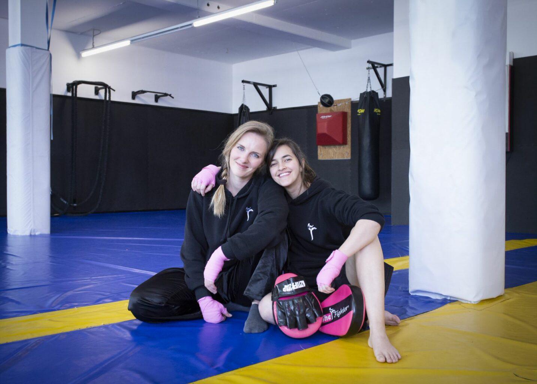 SheFighter: zwei starke Frauen, eine starke Mission_Daniela und Sarah