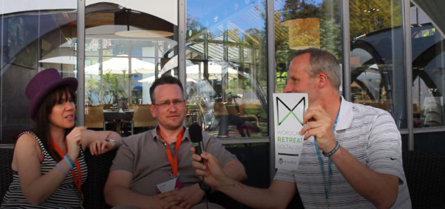Szene aus dem Interview zum WordCamp Retreat_3