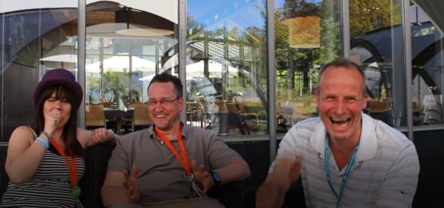 Szene aus dem Interview zum WordCamp Retreat_4
