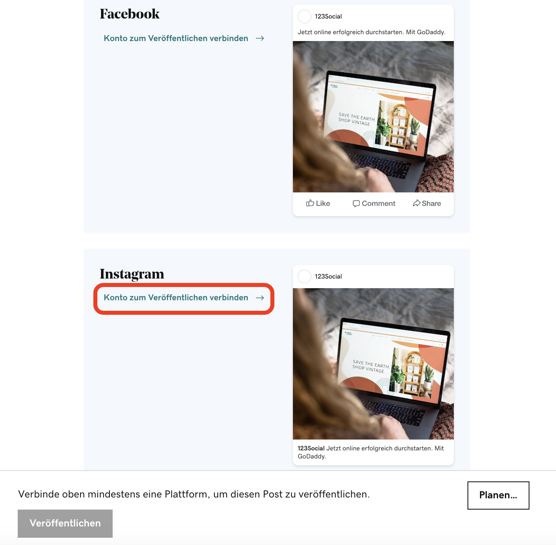 Websites Marketing_Beiträge direkt auf Instagram planen & veröffentlichen_Beitrag bearbeiten